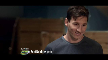 Messi FootBubbles TV Spot, 'Have You Got What It Takes' Feat. Lionel Messi - Thumbnail 7