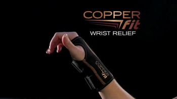 Copper Fit Wrist TV Spot, 'Customized Support' - Thumbnail 2