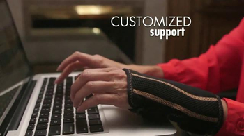 Copper Fit Wrist TV Spot, 'Customized Support' - Thumbnail 3