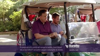 Xarelto TV Spot, 'In Common' Ft. Kevin Nealon, Chris Bosh, Arnold Palmer - Thumbnail 3