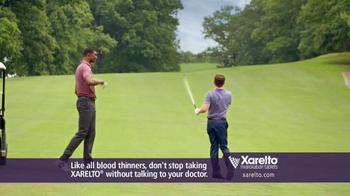Xarelto TV Spot, 'In Common' Ft. Kevin Nealon, Chris Bosh, Arnold Palmer - Thumbnail 5