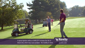 Xarelto TV Spot, 'In Common' Ft. Kevin Nealon, Chris Bosh, Arnold Palmer - 4977 commercial airings