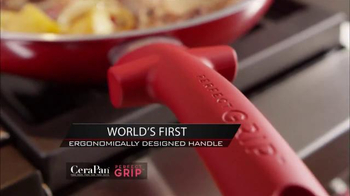 CeraPan Perfect Grip TV Spot, 'World's Best Grip and Cooking Surface' - Thumbnail 3