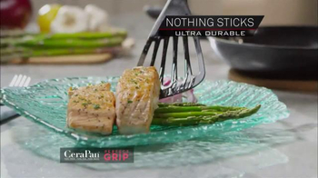 CeraPan Perfect Grip TV Spot, 'World's Best Grip and Cooking Surface' - Thumbnail 7