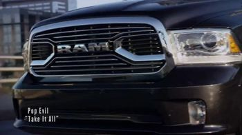 Ram Truck Month TV Spot, 'Urban Race' Song by Pop Evil