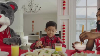 NBA TV Spot, 'Dining Table' Feat. Stephen Curry, Jeremy Lin, James Harden - Thumbnail 3