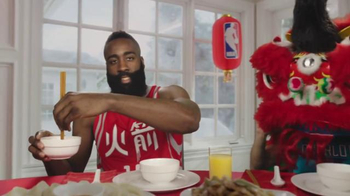 NBA TV Spot, \'Dining Table\' Feat. Stephen Curry, Jeremy Lin, James Harden