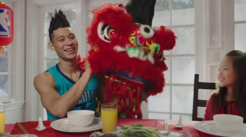 NBA TV Spot, 'Dining Table' Feat. Stephen Curry, Jeremy Lin, James Harden - Thumbnail 5