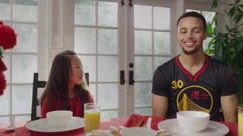 NBA TV Spot, 'Dining Table' Feat. Stephen Curry, Jeremy Lin, James Harden - Thumbnail 6
