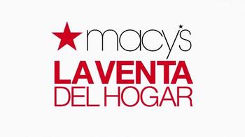 Macy's La Venta del Hogar TV Spot, 'Almohadas' [Spanish] - Thumbnail 2