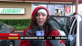 Subway TV Spot, 'SUB-Mageddon'