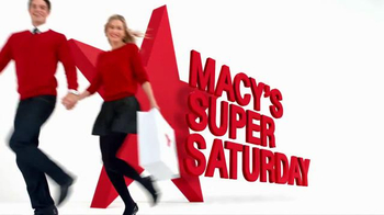 Macy's Super Saturday Sale TV Spot, 'Savings Pass: Merchandise' - Thumbnail 2