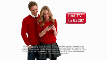 Macy's Super Saturday Sale TV Spot, 'Preview Friday' - Thumbnail 3