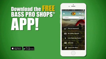 Bass Pro Shops Trophy Deals TV Spot, 'Cargo Shorts, Reels and App' - 274 commercial airings