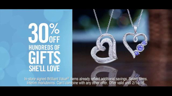 Zales Valentine's Day TV Spot, 'Snowshoeing: Valentine's Day: 30% Off' Song by OK Sweetheart - Thumbnail 7