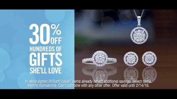 Zales Valentine's Day TV Spot, 'Snowshoeing: Valentine's Day: 30% Off' Song by OK Sweetheart - Thumbnail 9