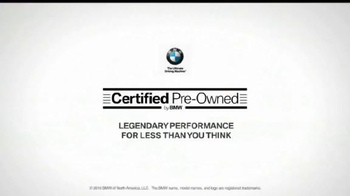 BMW Certified Pre-Owned TV Spot, 'Gemelos' - Thumbnail 8