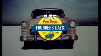 PepBoys Founders Days TV Spot, 'Conventional Oil & Tires' - Thumbnail 2