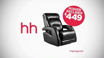 h.h. gregg Presidents' Day Sale TV Spot, 'TVs and Recliners' - Thumbnail 7