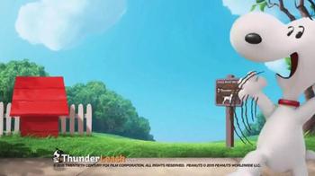 ThunderLeash TV Spot, 'The Peanuts Movie' - Thumbnail 1