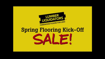 Lumber Liquidators Spring Flooring Kick-Off Sale! TV Spot, 'All Styles' - Thumbnail 2