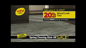 Lumber Liquidators Spring Flooring Kick-Off Sale! TV Spot, 'All Styles' - Thumbnail 3