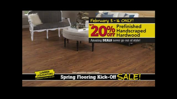 Lumber Liquidators Spring Flooring Kick-Off Sale! TV Spot, 'All Styles' - Thumbnail 4