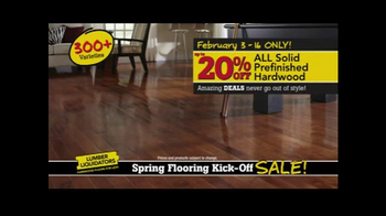 Lumber Liquidators Spring Flooring Kick-Off Sale! TV Spot, 'All Styles' - Thumbnail 5