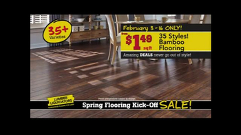 Lumber Liquidators Spring Flooring Kick-Off Sale! TV Spot, 'All Styles' - Thumbnail 6