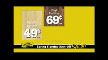 Lumber Liquidators Spring Flooring Kick-Off Sale! TV Spot, 'All Styles' - Thumbnail 7