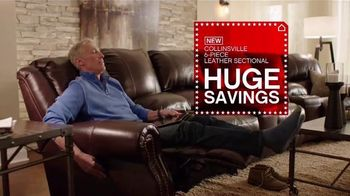 Ashley Homestore Presidents' Day Sale TV Spot, 'Queen Bed and Sofa'