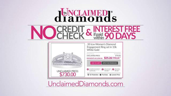 Unclaimed Diamonds TV Spot, 'Claim Yours' - Thumbnail 6