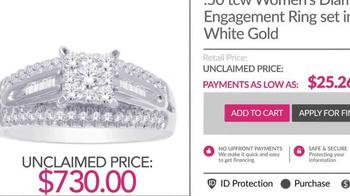 Unclaimed Diamonds TV Spot, 'Claim Yours' - Thumbnail 5
