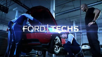 Ford Service TV Spot, 'The Specialists: The Works' Featuring Dwayne Johnson - Thumbnail 6
