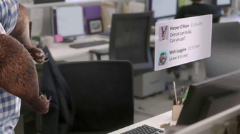 Slack TV Spot, 'Slack Teams Do Amazing Things: Animals!' - Thumbnail 5