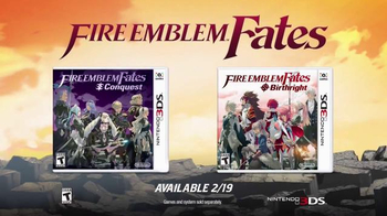 Fire Emblem Fates: Conquest and Birthright TV Spot, 'Two Kingdoms' - Thumbnail 9