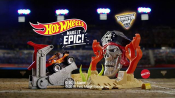 Hot Wheels Monster Jam TV Spot, 'Pirate Take Down' - Thumbnail 4