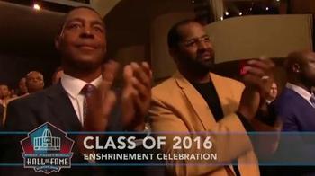 Pro Football Hall of Fame TV Spot, '2016 Enshrinement Celebration' - Thumbnail 3