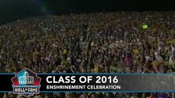 Pro Football Hall of Fame TV Spot, '2016 Enshrinement Celebration' - Thumbnail 4