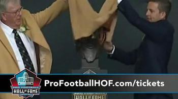 Pro Football Hall of Fame TV Spot, '2016 Enshrinement Celebration' - Thumbnail 8