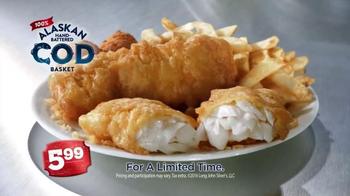 Long John Silver's Alaskan Cod Basket TV Spot, 'Satisfy Your Craving' - Thumbnail 7