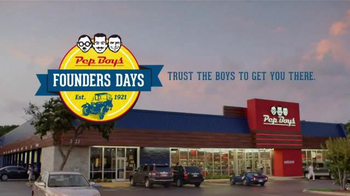 PepBoys Founders Days TV Spot, 'Tires and Wiper Blades' - Thumbnail 6
