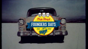PepBoys Founders Days TV Spot, 'Tires and Wiper Blades'