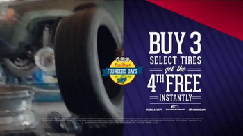 PepBoys Founders Days TV Spot, 'Tires and Wiper Blades' - Thumbnail 4