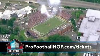 Pro Football Hall of Fame Enshrinement Weekend TV Spot, 'Football & Music' - Thumbnail 7