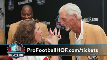 Pro Football Hall of Fame Enshrinement Weekend TV Spot, 'Football & Music' - Thumbnail 5