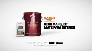 The Home Depot App TV Spot, 'Paleta de colores' [Spanish] - Thumbnail 9