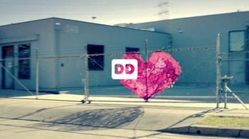 Dunkin' Donuts Heart Shaped Donuts TV Spot, 'Universal Love' - Thumbnail 1