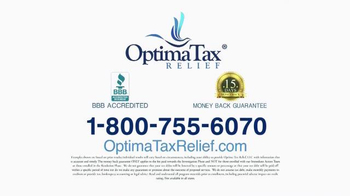 Optima Tax Relief TV Spot, 'Protection from IRS' - Thumbnail 8