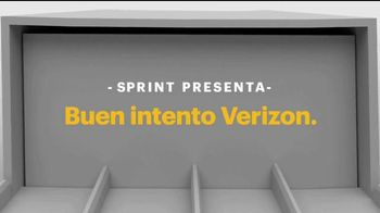Sprint LTE Plus TV Spot, 'Buen intento, Verizon' [Spanish] - 683 commercial airings